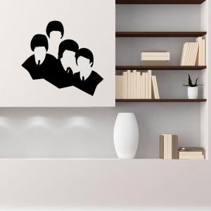 Adesivo de Parede Beatles Abstrato
