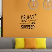 Adesivo de Parede Believe And Succeed