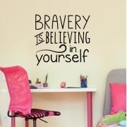 Adesivo de Parede Bravery