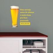 Adesivo de Parede Cerveja Chico Science