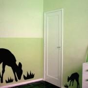Adesivo de Parede Infantil Safari Cervo