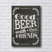 Adesivo de Parede Chalkboard Good Beer