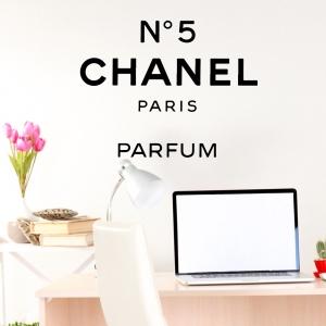 Adesivo de Parede Chanel Number 5