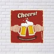 Adesivo de Parede Cheers Retrô