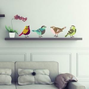 Adesivo de Parede Colors Birds