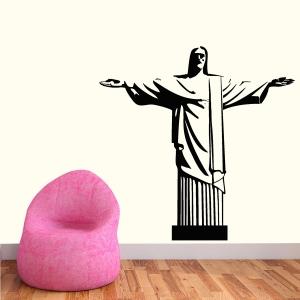Adesivo de Parede Cristo Redentor