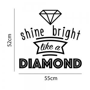 Adesivo de Parede Diamonds