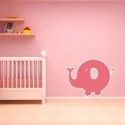 Adesivo de Parede Elefante Infantil
