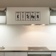Adesivo de Parede Elementos Químicos Kitchen