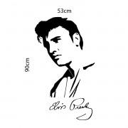 Adesivo de Parede Elvis