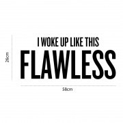 Adesivo de Parede Flawless
