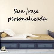 Adesivo de Parede Frase Personalizada 50cm