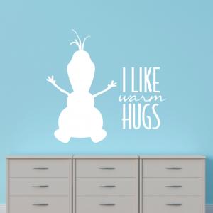 Adesivo de Parede Frozen Warm Hugs