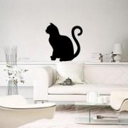 Adesivo de Parede Gato Sentado