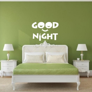 Adesivo de Parede Good Night