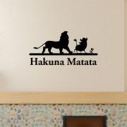 Adesivo de Parede Hakuna Matata