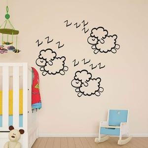 Adesivo de Parede Infantil Hora do Sono