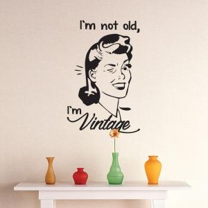 Adesivo de Parede I`m Vintage