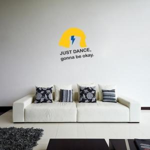 Adesivo de Parede Just Dance