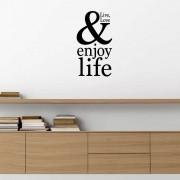 Adesivo de Parede Live, Love e Enjoy Life