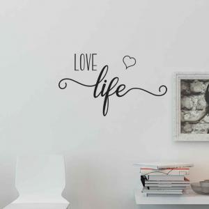 Adesivo de Parede Love Life