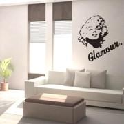 Adesivo de Parede Marilyn Monroe Glamour