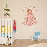 Adesivo de Parede Maternidade 2