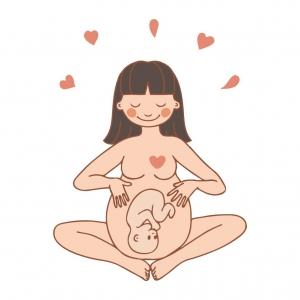 Adesivo de Parede Maternidade 4