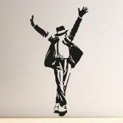 Adesivo de Parede Michael Jackson I