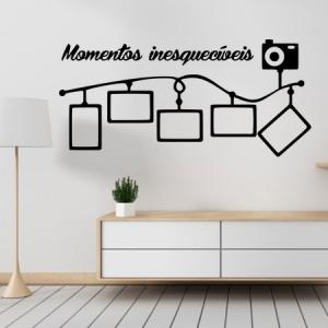 Adesivo de Parede Momentos Inesqueciveis