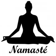 Adesivo de Parede Namasté