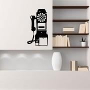 Adesivo de Parede Old Phone