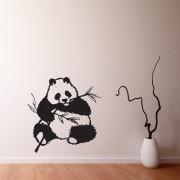 Adesivo de Parede Panda Chewing