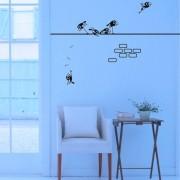 Adesivo de Parede Pássaros no Muro