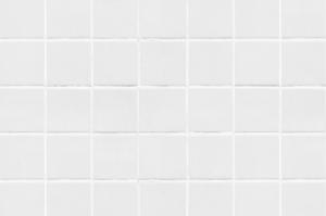 Adesivo de parede pastilhas brancas