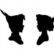 Adesivo de Parede Peter Pan e Wendy
