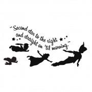 Adesivo de Parede Peter Pan Voando