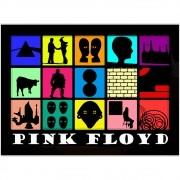 Adesivo de Parede Pink Floyd Albuns