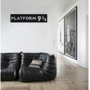 Adesivo de Parede Platform 9 3/4