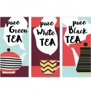 Adesivo de Parede Pure Green Tea