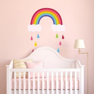 Adesivo de Parede Rainbow Drops