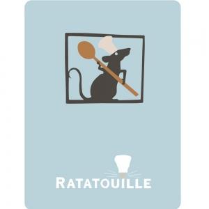 Adesivo de Parede Ratatouille