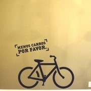 Adesivo de Parede Ride a Bike