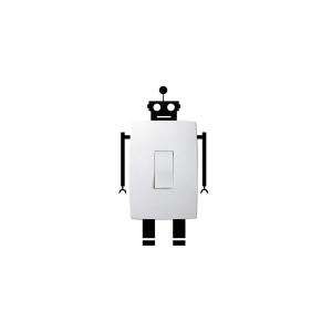 Adesivo de Parede Robo Interruptor
