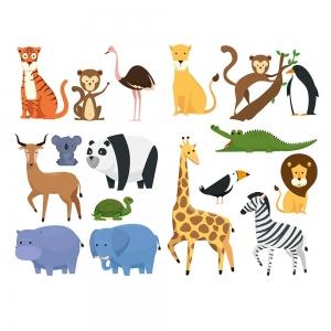 Adesivo de Parede Safari I
