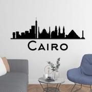Adesivo de Parede Skyline Cairo