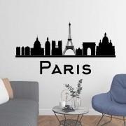 Adesivo de Parede Skyline Paris