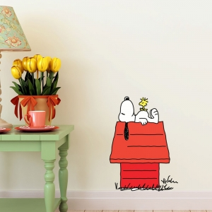 Adesivo de Parede Snoopy House