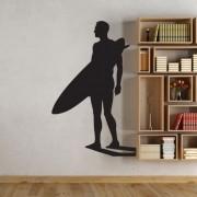 Adesivo de Parede Surfista Go Surf