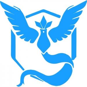 Adesivo de Parede Team Mystic Pokemon